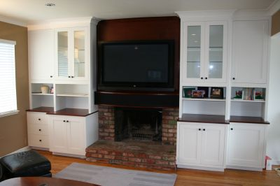 Amazing Plasma TV Over Fireplace