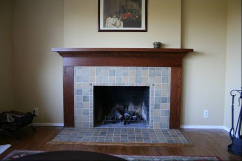 Tile Fireplace Designs Pictures