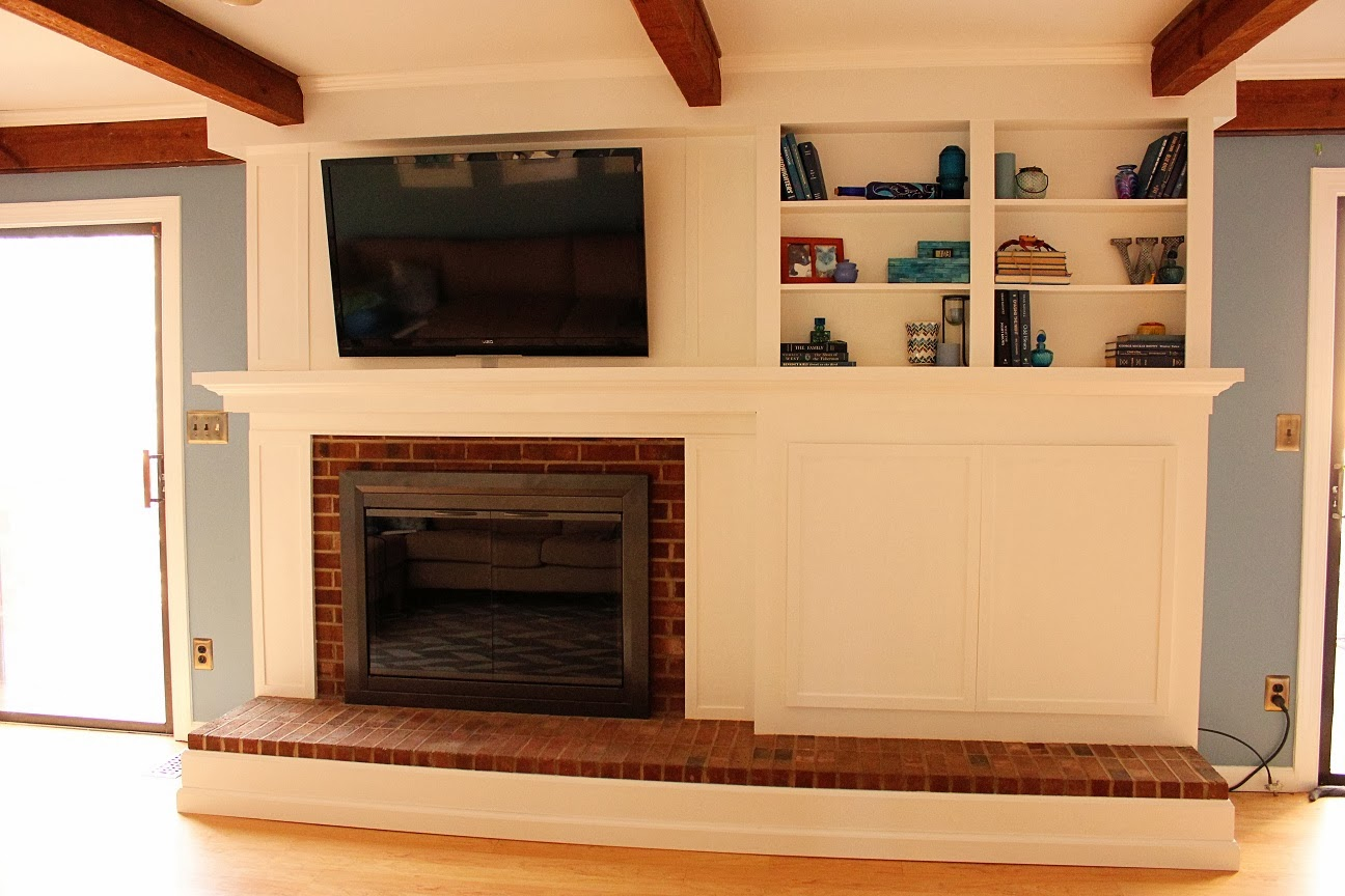 Remarkable Do It Yourself Fireplace Remodels Home Interior And Landscaping Fragforummapetitesourisinfo