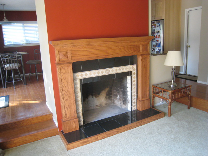 Do it yourself fireplace remodels daves fireplace after remodel solutioingenieria Gallery