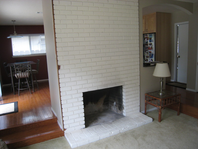 Fireplace Design remodel brick fireplace : Do it Yourself Fireplace Remodels