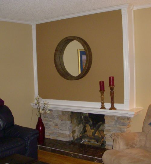 Fireplace After Remodel