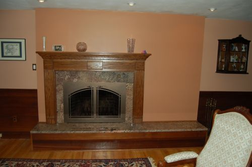 Do it yourself fireplace remodels fireplace after remodel solutioingenieria Gallery