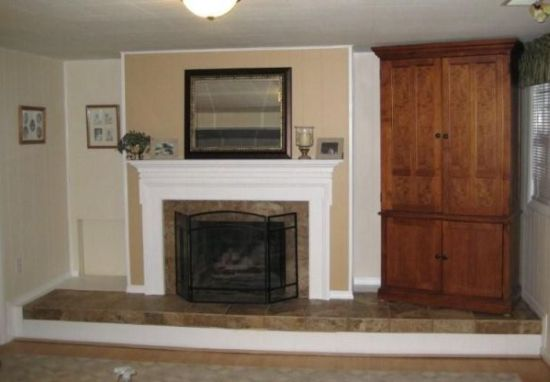 Fireplace After Refacing