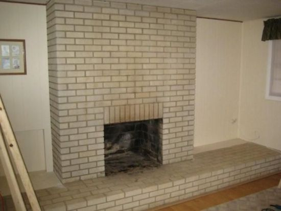 Fireplace Before Refacing - Do It Yourself Fireplace Remodels