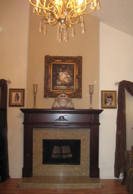 After Fireplace Remodel - Do It Yourself Fireplace Remodels