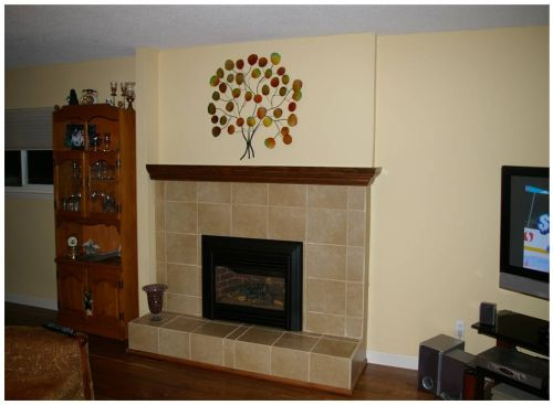 Fireplace After Remodel - Do It Yourself Fireplace Remodels